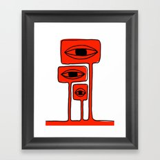 Which god is this that you have imprisoned? Framed Art Print