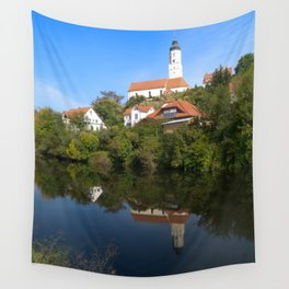 St. Martinus Church in swabia Wall Tapestry