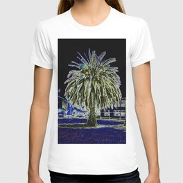 Magic night with Palm tree T-shirt