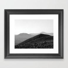 Sand dunes, Fuerteventura. Framed Art Print