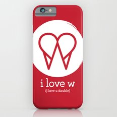 I Love W iPhone 6s Slim Case