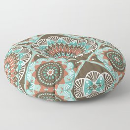 Toned Variety Pattern Floor Pillow