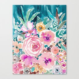 SMELLS LIKE SWEET SALT SPRAY Canvas Print