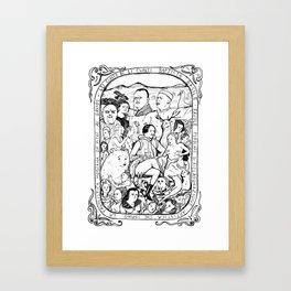Basile Framed Art Print