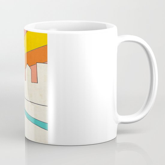 if i had eyes at the back of my head, i wouldn't have to miss the sunset on my way home Mug