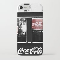 coca cola iPhone & iPod Cases featuring coca cola by Crimson Crazed