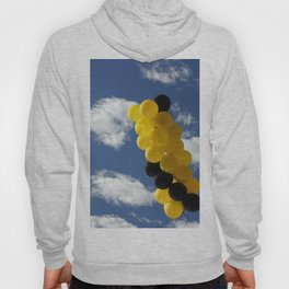 Yellow Black Ballons Hoody
