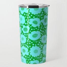 Buttercups_Grass/Pool Travel Mug
