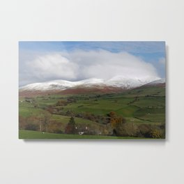 Howgill Fells in Winter Metal Print