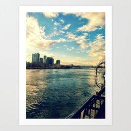 east river Art Print