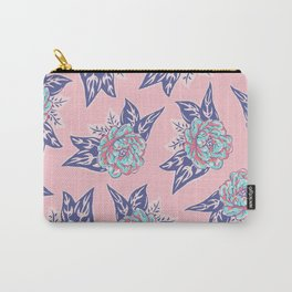 Cabbage Rose Tattoo Flash Carry-All Pouch