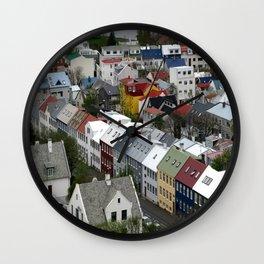Reykjavik, Sweet. Wall Clock