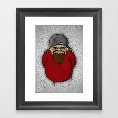 General Misery Framed Art Print