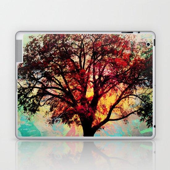 Fall Tree 2 Laptop & iPad Skin