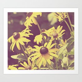 floral beauty no. 3 Art Print