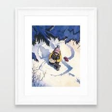 A Short Rest Framed Art Print