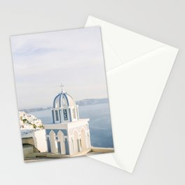 Pastel Blue Church Stationery Cards