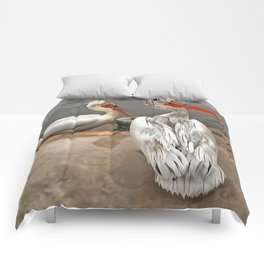 Pelicans - The Grey Twins Comforters