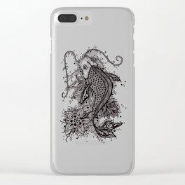 Zen Koi Clear iPhone Case
