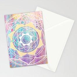 Mixed Media Mandala - Journey Stationery Cards
