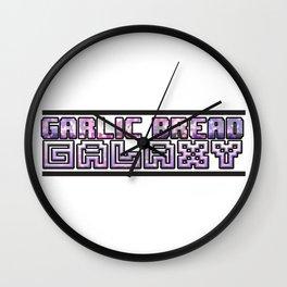 Garlic Bread Galaxy Wall Clock