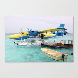 Maldivian Transport - The DHC6 Twin Otter Canvas Print