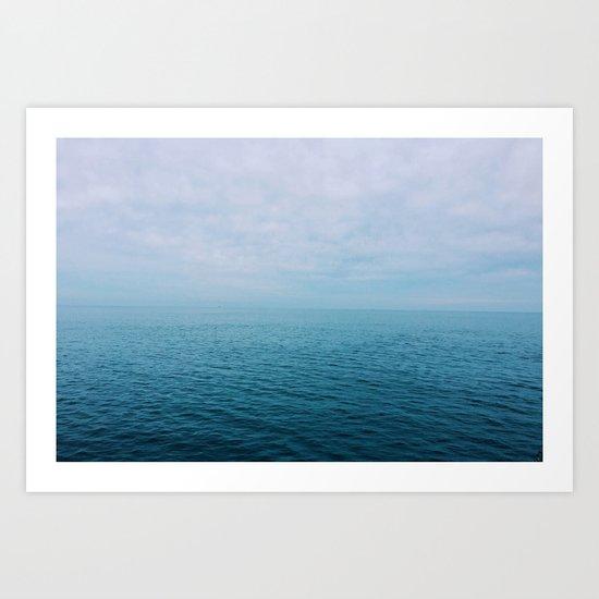 The Endless Sea Art Print