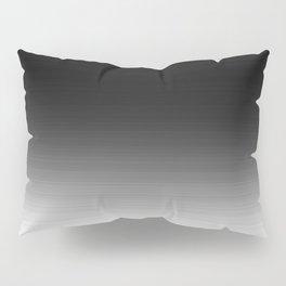 Black & White Ombre Gradient Pillow Sham
