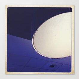 blue light disco Canvas Print