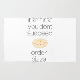 Order Pizza Rug
