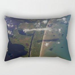 Earth: So Beautiful Rectangular Pillow