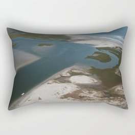 Lea-Hutaff Island | Rich's Inlet | Wilmington NC Rectangular Pillow