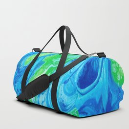 Blue & Green So Clean Duffle Bag