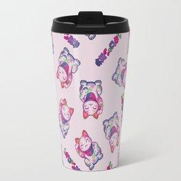 Maneki Neko Cotton (Bare Version) Travel Mug