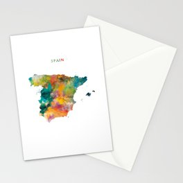 Spain Stationery Cards