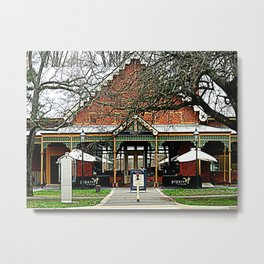 Pipers Restaurant Metal Print