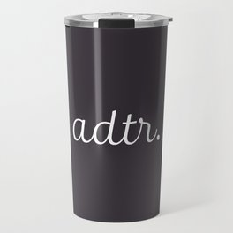 ADTR Simple Script Travel Mug
