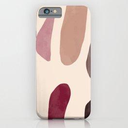 Color Stones Biege Path iPhone Case