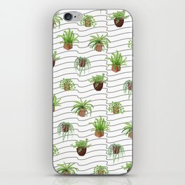Plant Lady iPhone Skin