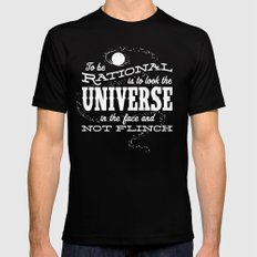 Rationality Mens Fitted Tee Black LARGE