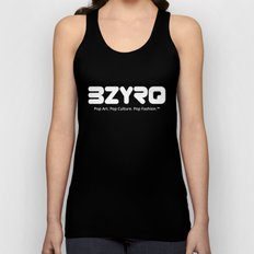 BZYRQ Logo (White on Black) Unisex Tank Top