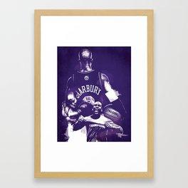 Marbury Framed Art Print