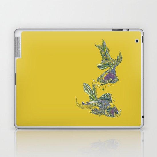 Blooming in Deep Laptop & iPad Skin
