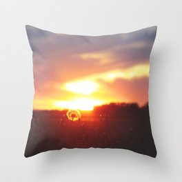 The Sunrise—Sire—compelleth Me— Throw Pillow