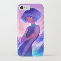 loish iPhone & iPod Cases featuring frost by loish