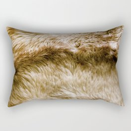 Fluffy Fur Rectangular Pillow