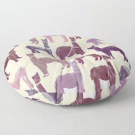 Llama March Floor Pillow
