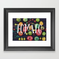 Tomato Framed Art Print