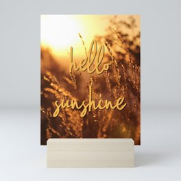 Hello Sunshine! Mini Art Print
