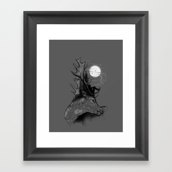 A Long December Framed Art Print